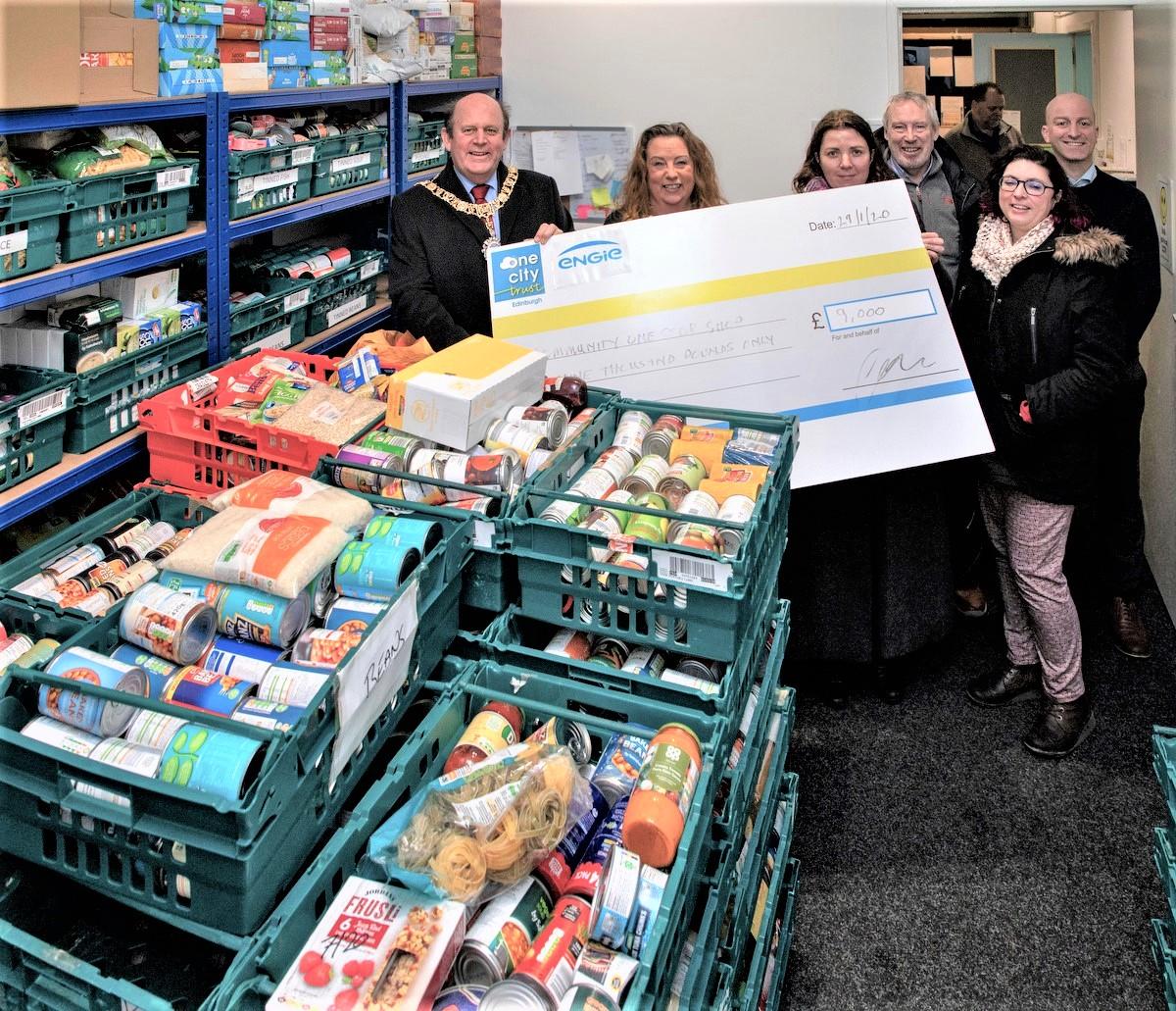 Community Benefit Partnership visit to the 'Community One Stop Shop'